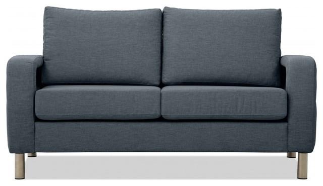 2 sitzer sofa omnia 222 i grau modern sofas by. Black Bedroom Furniture Sets. Home Design Ideas