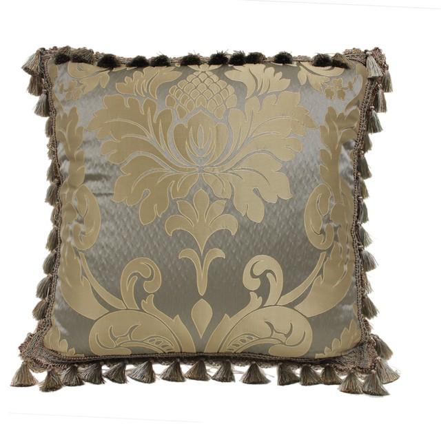 Victorian Throw Pillows : Austin Horn Classics Duchess Euro Main Pattern Pillow - Victorian - Decorative Pillows - by ...