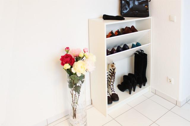 schuhregal f r billy regal von ikea skandinavisch schuhschr nke regale other metro. Black Bedroom Furniture Sets. Home Design Ideas