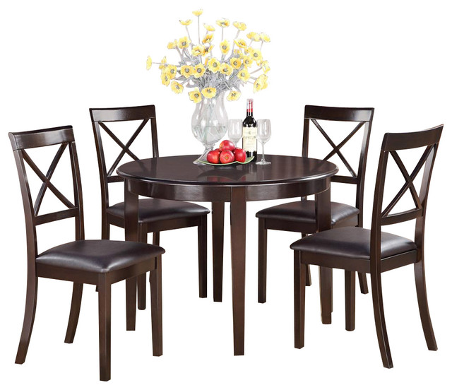 small kitchen table and chairs set round table and 4 dining chairs