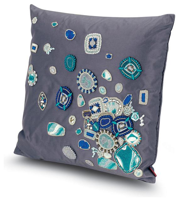 All Modern Missoni Pillows : Missoni Home Pantin Cushion - 170 - Modern - Decorative Pillows - east anglia - by Amara Living