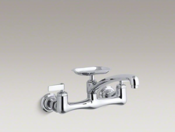 KOHLER Clearwater R Double Lever Handle Sink Supply Faucet With 8 Swin
