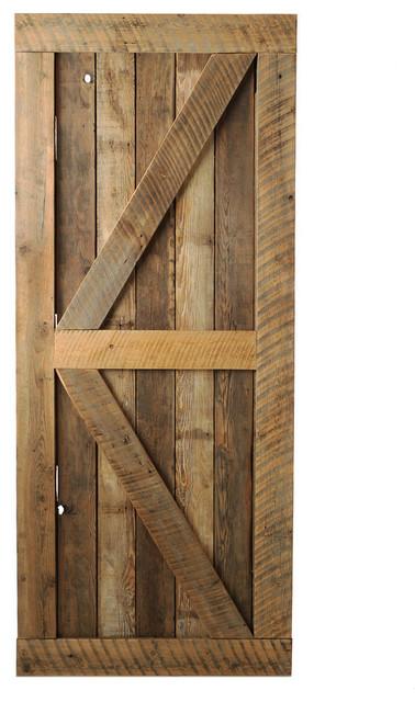 Big Horn Door, Unfinished, 38x81 - Rustic - Interior Doors