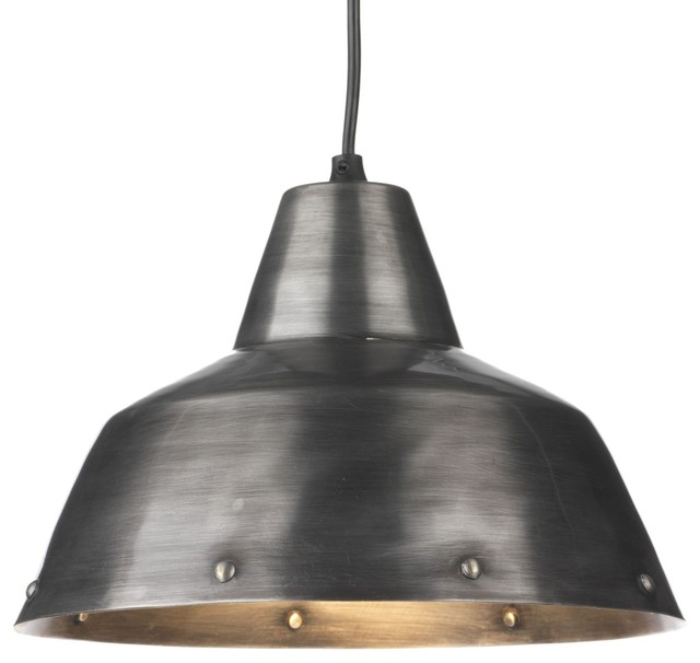 Fatto suspension lumineuse en m tal 27cm industriel for Suspension industrielle cuisine