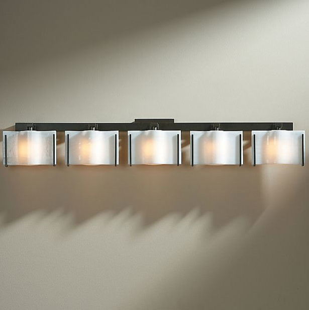 Vanity Light Bar With Cord : Exos Wave 5 Light Bath Bar modern-bathroom-vanity-lighting