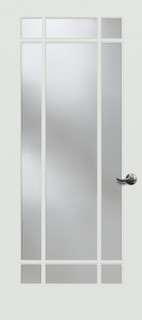 9 Lite Decorative Glass Interior Door Interior Doors