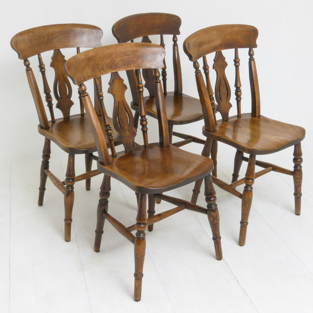 Set Of Four Victorian Chairs