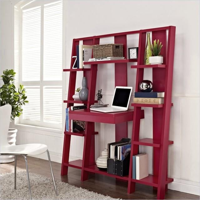 ladder desk and bookcase 1