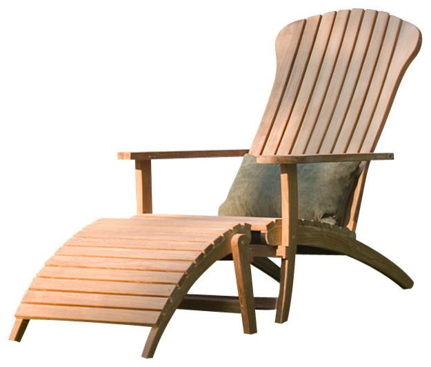 arrowhead teak adirondack chair modern adirondack. Black Bedroom Furniture Sets. Home Design Ideas