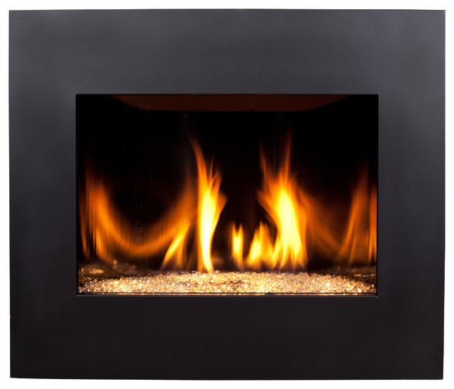 Direct Vent Fireplace Rustic Indoor Fireplaces Other