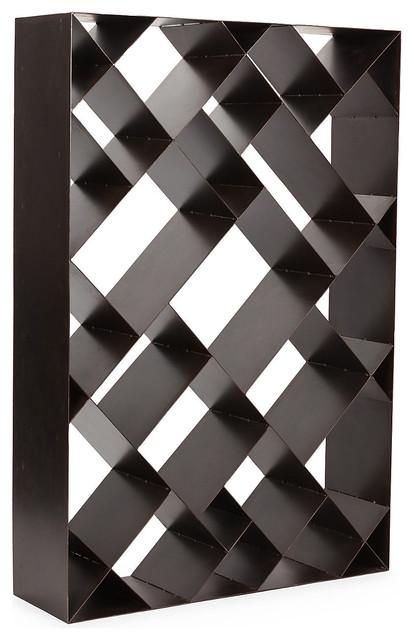 Small Diagonal Bookcase Contemporary Bookcases