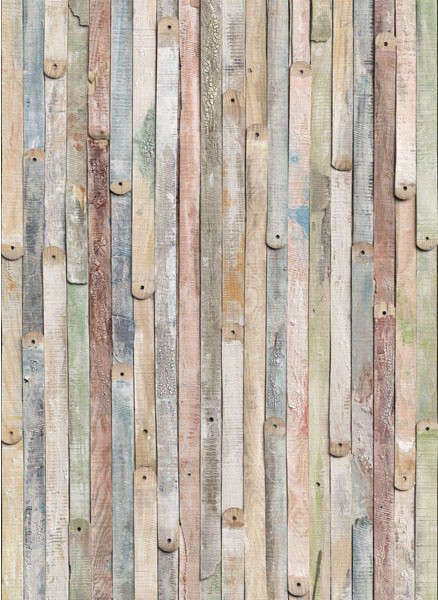 Vintage wood wallpaper eclectic wallpaper by for Home wallpaper wood