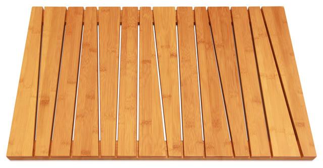 Bamboo Bath Mat Scandinavian Bath Mats By Toilettree