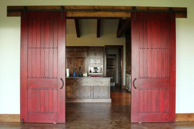 Sliding Barn Doors Traditional Interior Doors Dallas