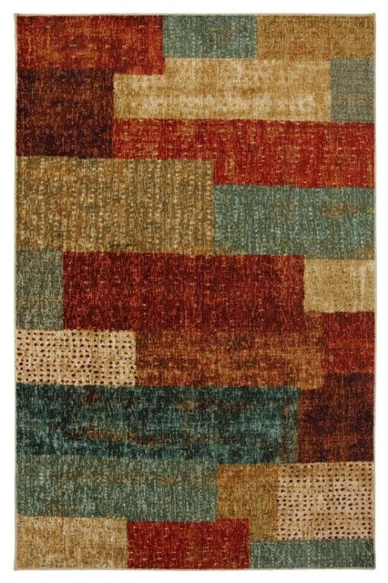Contemporary Indoor Outdoor Area Rug Mohawk Home Rugs