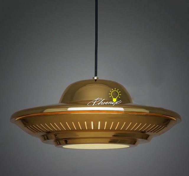Commercial Lighting In Phoenix: Industrial Golgen Disc UFO Pendant Lighting