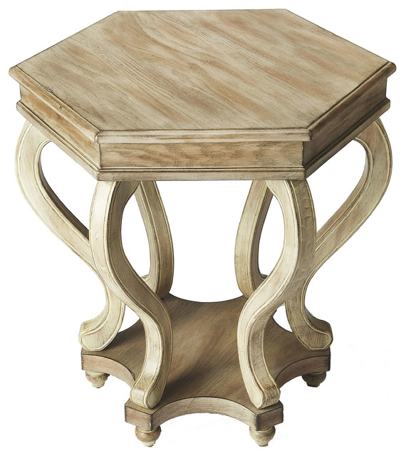 Driftwood End Table: Margaret Driftwood Accent Table