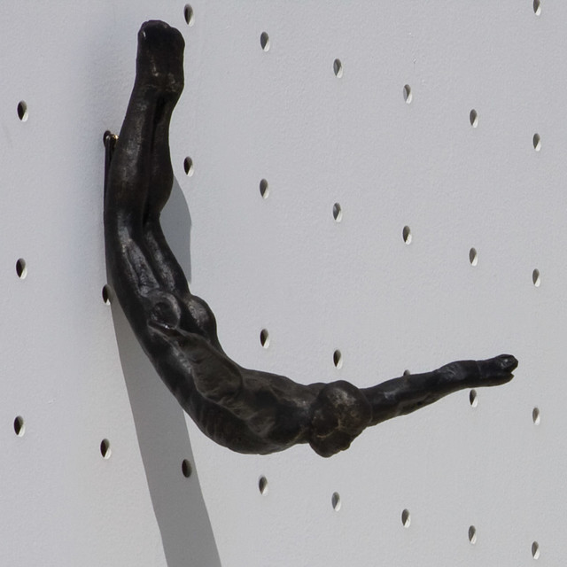 Global Views Wall Diver Wall Sculpture Modern Wall