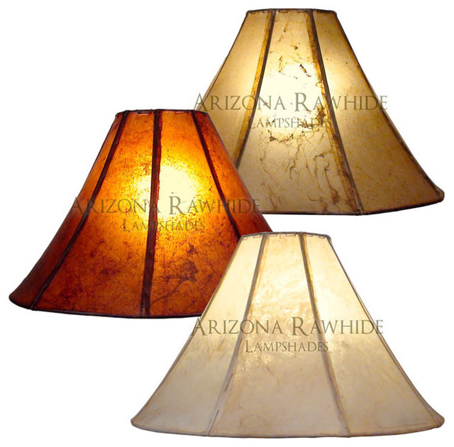 Rawhide Lamp Shade Floor Lamps Size 12 Quot H X 20 Quot W 6 Quot W Top