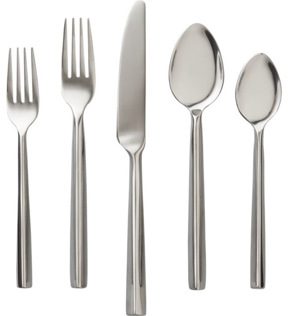 Pattern 333 Flatware Modern Flatware And Silverware Sets By Cb2