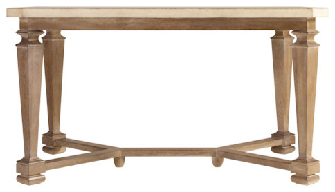 Rectangular dining table with base for Traditional dining table bases