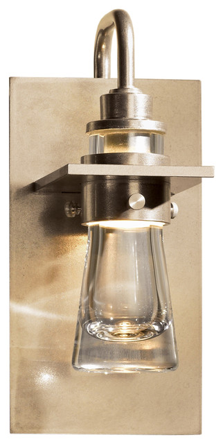 Erlenmeyer Small Wall Sconce Soft Gold - Modern - Wall Sconces - by Lightology