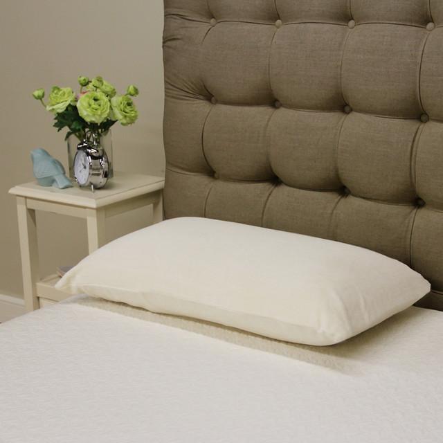 Renew and Revive Celia Plush Latex Pillow - Contemporary - Decorative ...