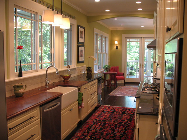 Pamela foster traditional kitchen other by pamela for Traditional galley kitchens