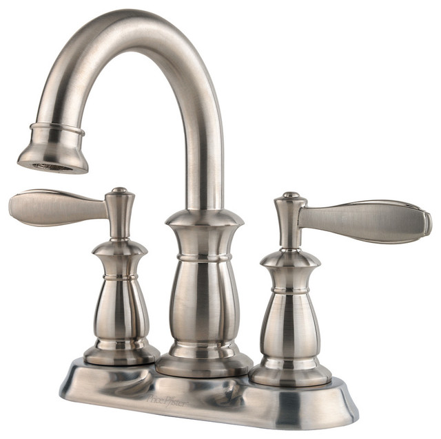 Price Pfister 560943 Langston Lead Free 4 Inch Centerset Bathroom Faucet Traditional