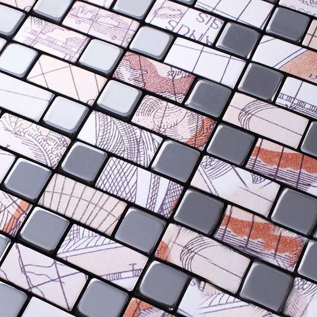 aluminum wall panel kitchen backsplash ideas metallic tile