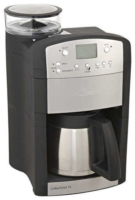 Capresso Coffeeteam Gs  Cup Digital Coffee Maker Reviews