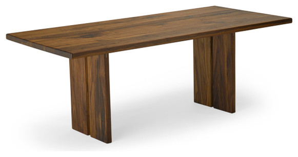 "Walnut To her Table Seats 10 42"" X 108"" Contemporary Dinin"