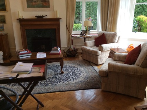 Redecorating Victorian Living Room