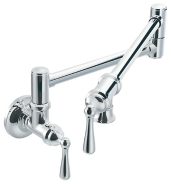 moen wall mount kitchen faucet re re