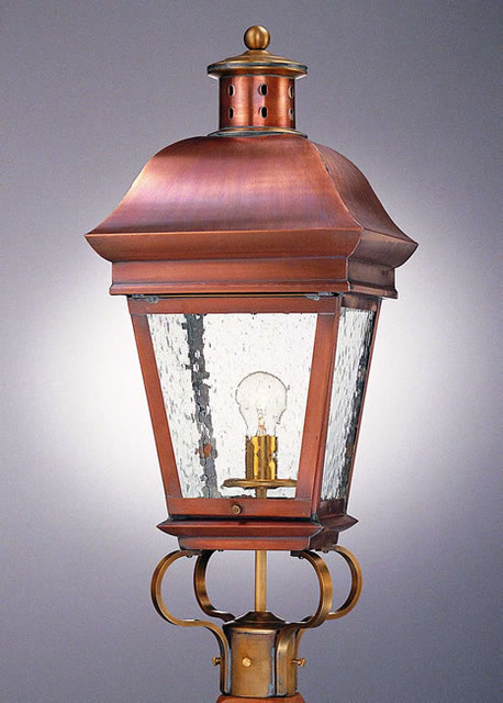 Old Georgian Handcrafted Post Light Traditional Post Lights Philadelphia By Copper