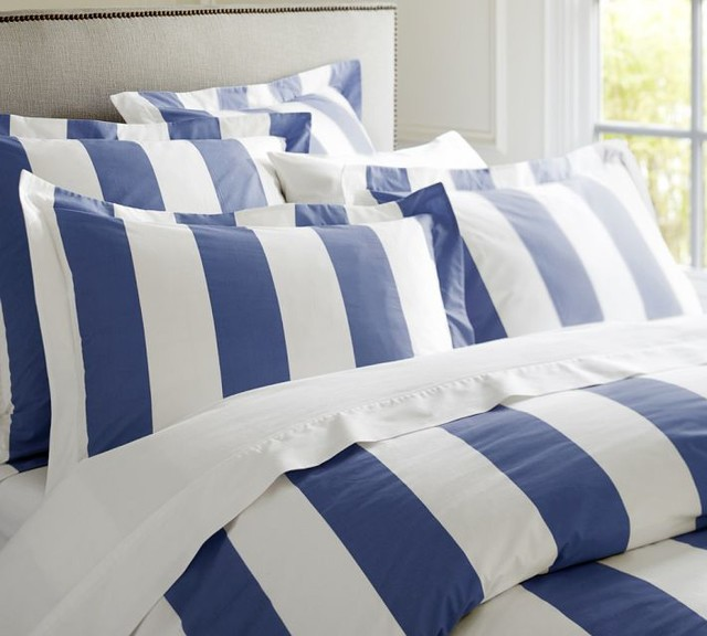 Pb Classic Stripe 400 Thread Count Duvet Cover Amp Sham