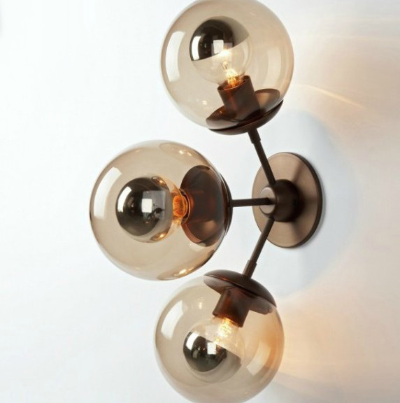 Antique Glass Ball Wall Sconce and Lights - Contemporary - Wall Sconces - new york - by PHOENIX ...