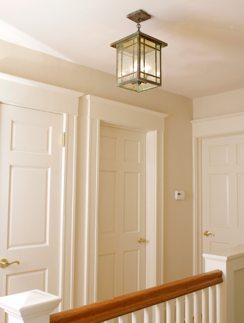 Second Floor Landing Ceiling Lighting Craftsman