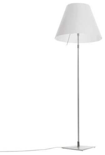 costanza grande floor lamp with on off switch by luceplan. Black Bedroom Furniture Sets. Home Design Ideas