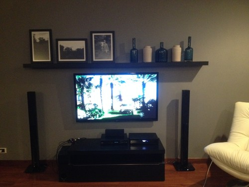 Need Help With Shelf Above Television