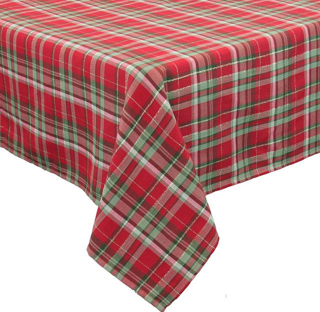 Holiday tartan christmas christmas tablecloth 70 by 120 for 120 table runner christmas