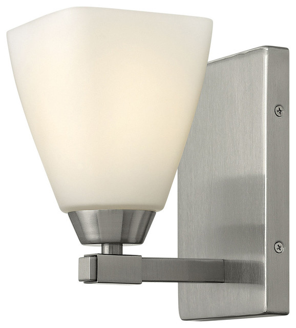 Bathroom Vanity Lights Single : Hinkley Lighting Single Light Bathroom Vanity Fixture contemporary-bathroom-vanity-lighting
