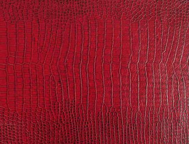 Crocodile Lizard Snakeskin Upholstery Fabric Waterproof
