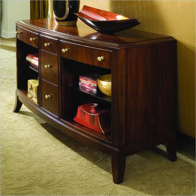American drew 591 925 sofa table bob mackie home signature - Bob mackie discontinued bedroom furniture ...
