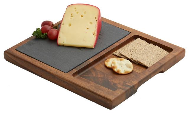 Slate Cheese Board Modern Cutting Boards By Woodard