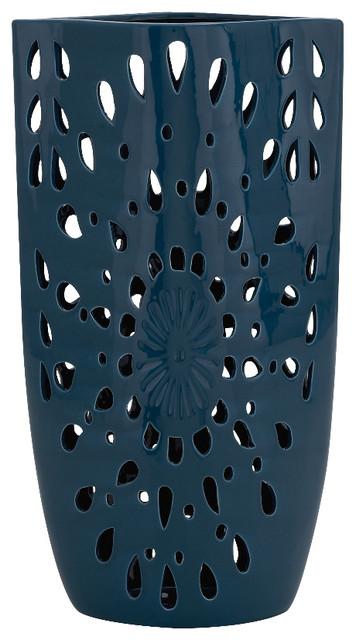 Unique inspired style the unique ceramic blue vase home for Unique decorative accessories
