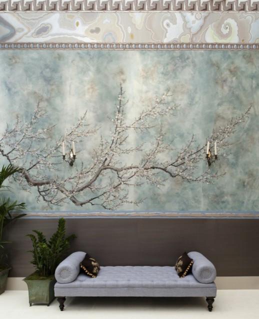prunus in samui asian wallpaper by fromental