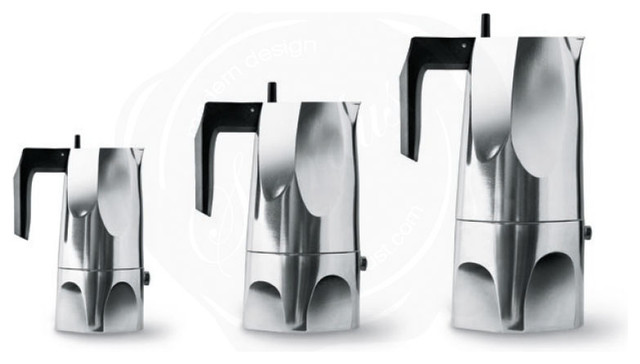 Modern Italian Coffee Maker : Italian Espresso Maker OSSIDIANA Alessi at Stardust - Modern - Espresso Coffee Machines - san ...