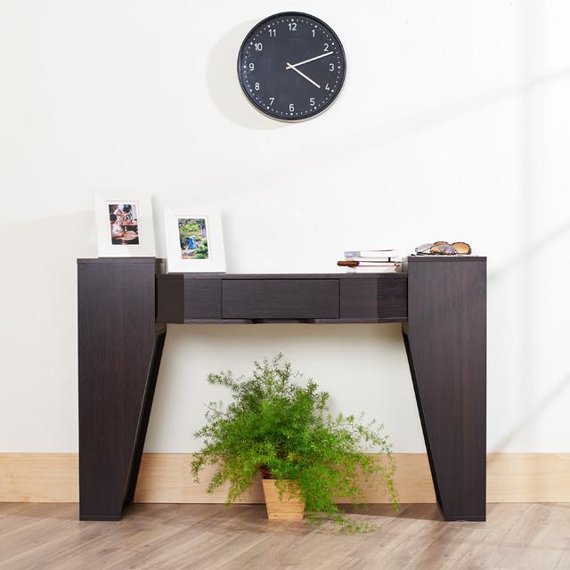 Furniture of america crezia espresso console table for Furniture of america sofa table