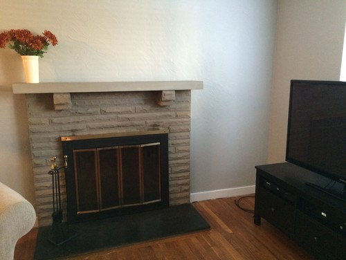 Hanging A Tv Above The Fireplace